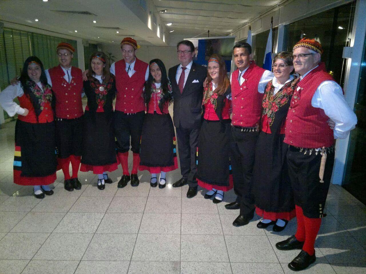 Baile do Clube de dança folclórico Filandês